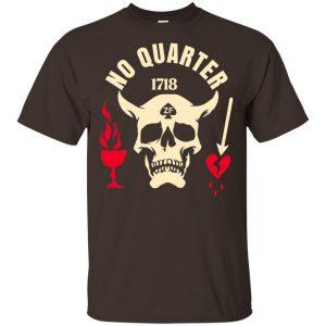 Black Beard No Quarter 1718 T-Shirts, Hoodie, Tank Apparel