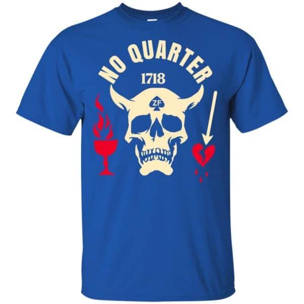 Black Beard No Quarter 1718 T-Shirts, Hoodie, Tank Apparel 5