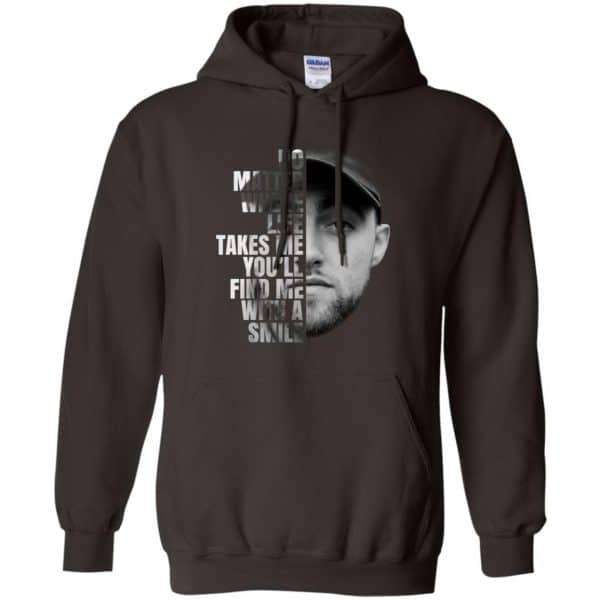 Mac Miller: No Matter Where Life Takes Me You'll Find Me With A Smile T-Shirts, Hoodie, Tank Apparel 9