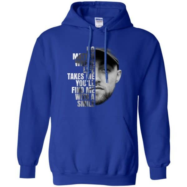 Mac Miller: No Matter Where Life Takes Me You'll Find Me With A Smile T-Shirts, Hoodie, Tank Apparel 10