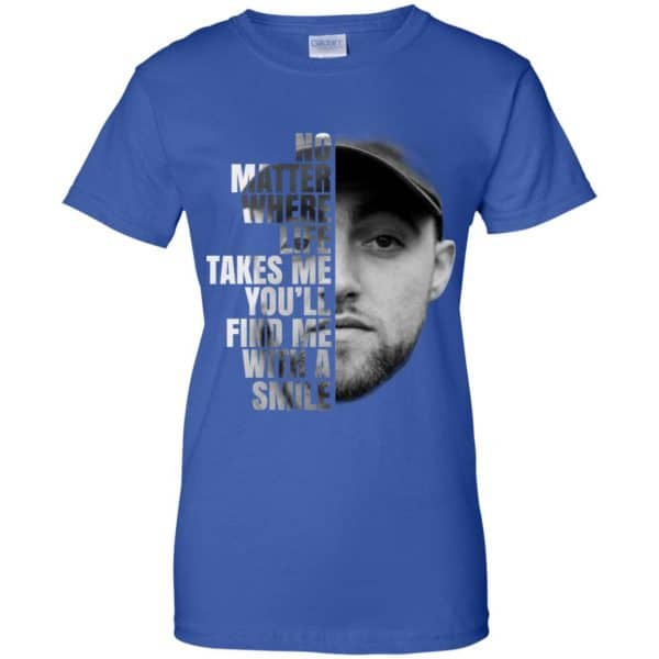 Mac Miller: No Matter Where Life Takes Me You'll Find Me With A Smile T-Shirts, Hoodie, Tank Apparel 14