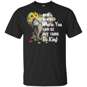 Autism: In A World Where You Can Be Anything Be Kind T-Shirts, Hoodie, Tank Apparel