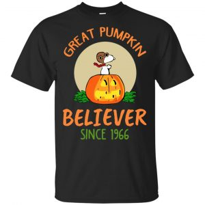 Great Pumpkin Believer Since 1966 T-Shirts, Hoodie, Tank Apparel