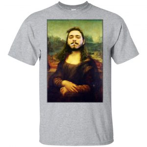 Post Malone Mona Lisa Smoking T-Shirts, Hoodie, Tank