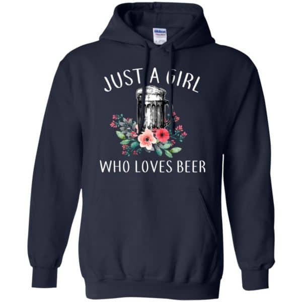 Beer Lovers: Just A Girl Who Loves Beer T-Shirts, Hoodie, Tank Apparel