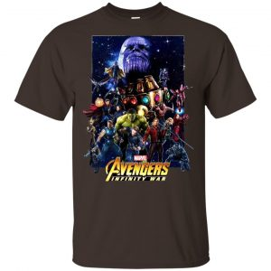 The Avengers: Infinity Wars Team T-Shirts, Hoodie, Tank Apparel