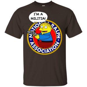 Ralph Wiggum I'm A Militia T-Shirts, Hoodie, Tank