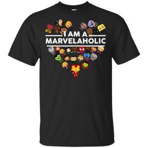 I Am A Marvelaholic T-Shirts, Hoodie, Tank