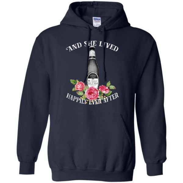 I Love Michelob Ultra – And She Lived Happily Ever After T-Shirts, Hoodie, Tank Apparel 8