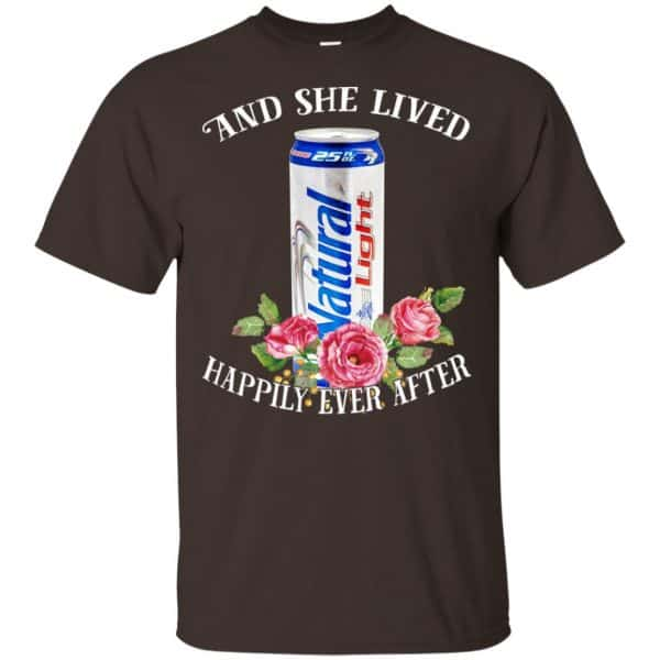 I Love Natural Light – And She Lived Happily Ever After T-Shirts, Hoodie, Tank Apparel 4