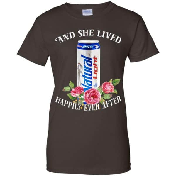 I Love Natural Light – And She Lived Happily Ever After T-Shirts, Hoodie, Tank Apparel 12