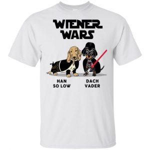 Dachshund Star Wars Shirts Wiener Wars Han So Low Dach Vader T-Shirts, Hoodie, Tank Apparel 2
