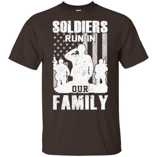 Veteran: Soldiers Run In Out Family Veteran Dad Son T-Shirts, Hoodie, Tank Apparel 4