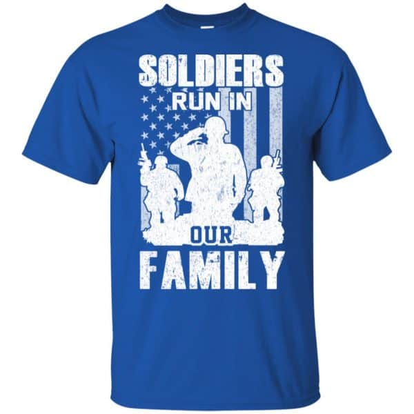 Veteran: Soldiers Run In Out Family Veteran Dad Son T-Shirts, Hoodie, Tank Apparel 5