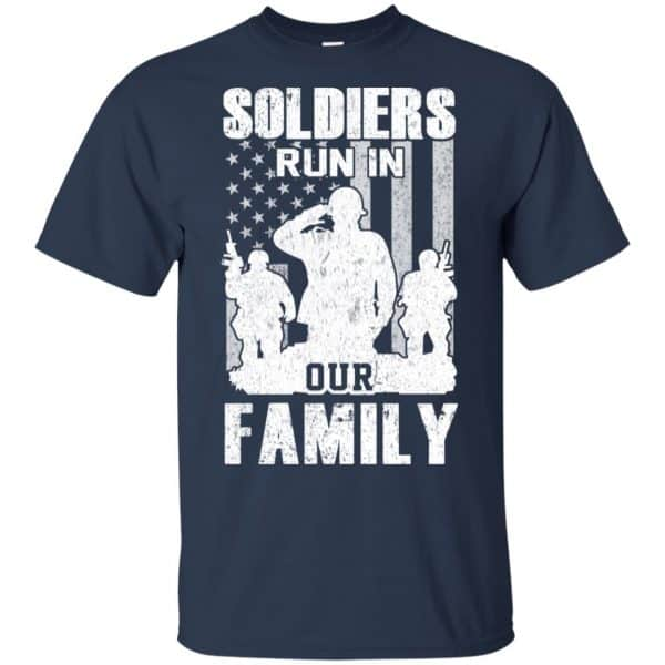 Veteran: Soldiers Run In Out Family Veteran Dad Son T-Shirts, Hoodie, Tank Apparel 6