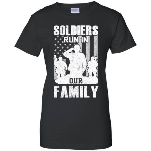 Veteran: Soldiers Run In Out Family Veteran Dad Son T-Shirts, Hoodie, Tank Apparel 11