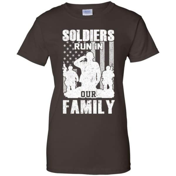 Veteran: Soldiers Run In Out Family Veteran Dad Son T-Shirts, Hoodie, Tank Apparel 12
