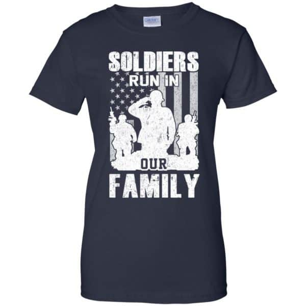 Veteran: Soldiers Run In Out Family Veteran Dad Son T-Shirts, Hoodie, Tank Apparel 13