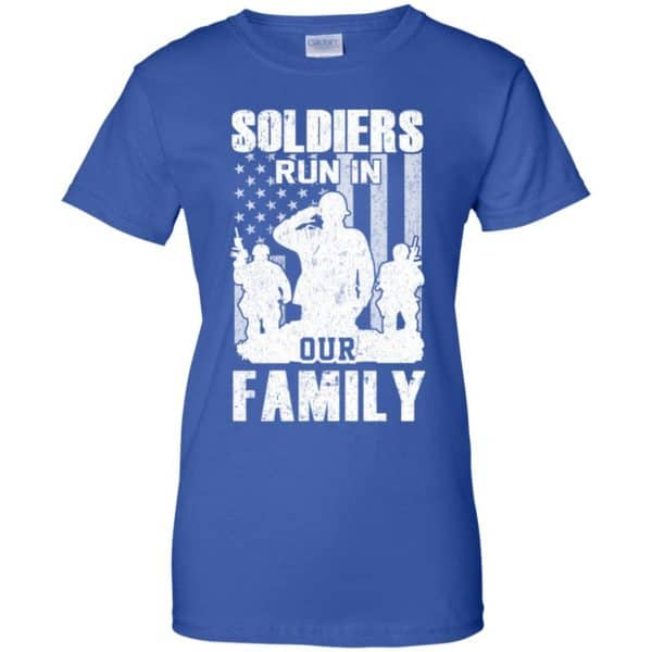 Veteran: Soldiers Run In Out Family Veteran Dad Son T-Shirts, Hoodie, Tank Apparel 14