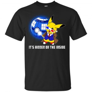 Pokemon: It's Bigger On The Inside T-Shirts, Hoodie, Tank Apparel