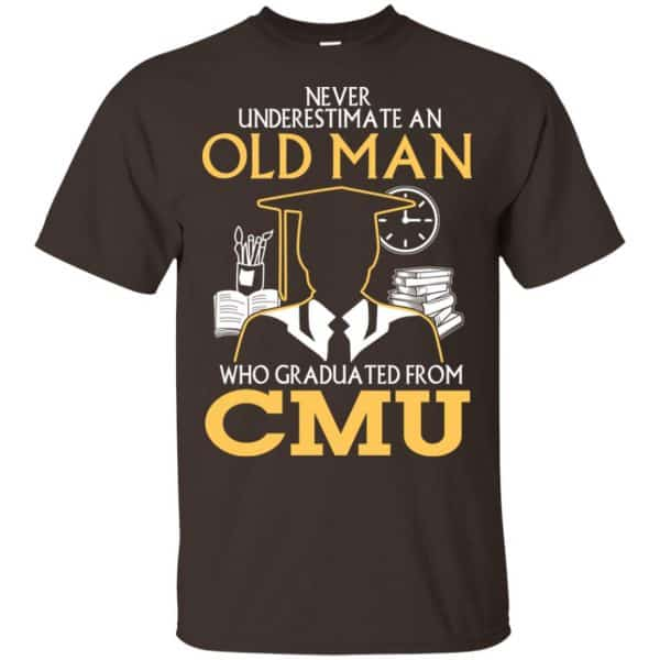 Never Underestimate An Old Man Who Graduated From CMU T-Shirts, Hoodie, Tank Apparel