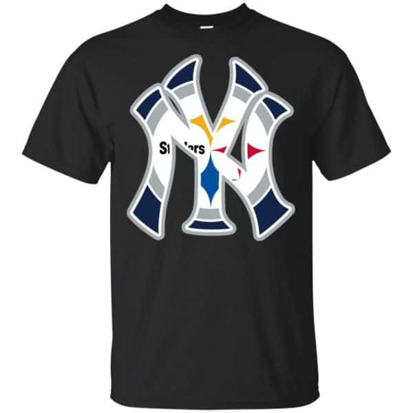 New York Yankees Pittsburgh Steelers T-Shirts, Hoodie, Tank Apparel 3