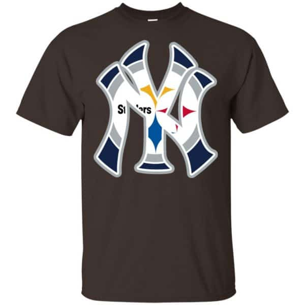 New York Yankees Pittsburgh Steelers T-Shirts, Hoodie, Tank Apparel 4
