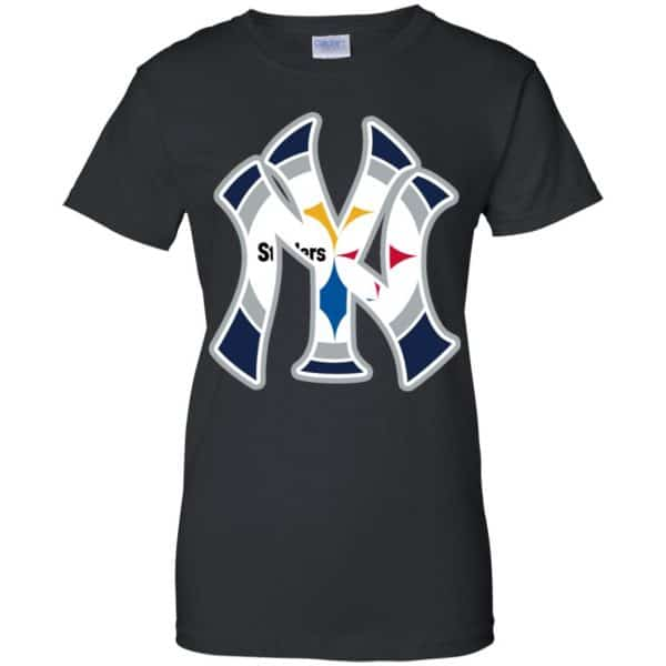 New York Yankees Pittsburgh Steelers T-Shirts, Hoodie, Tank Apparel 11