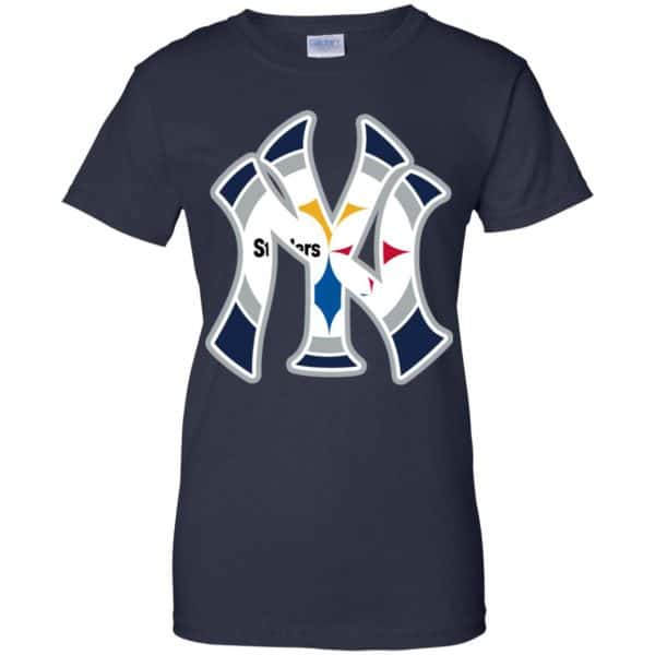 New York Yankees Pittsburgh Steelers T-Shirts, Hoodie, Tank Apparel 13