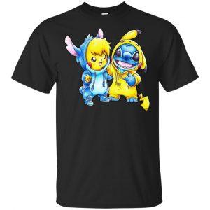 Cute Stitch Pokemon T-Shirts, Hoodie, Tank Apparel