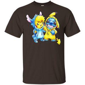 Cute Stitch Pokemon T-Shirts, Hoodie, Tank Apparel 2