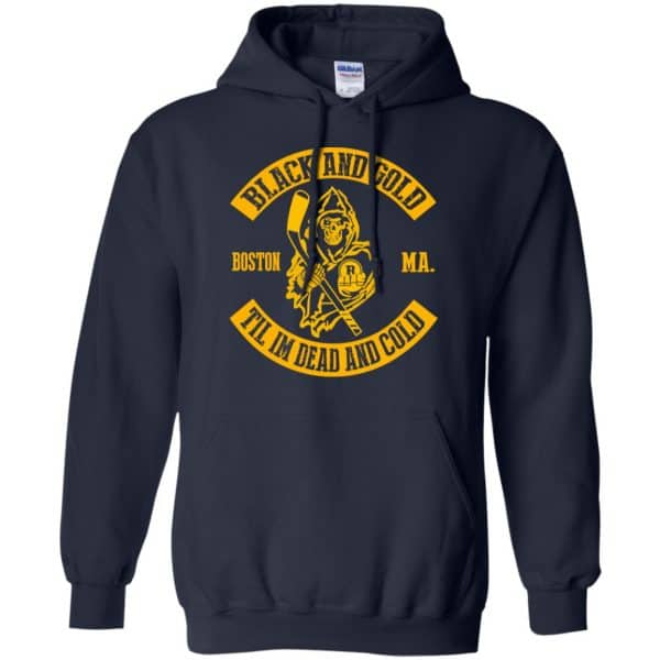 Boston Bruins: Black And Gold Til I'm Dead And Cold T-Shirts, Hoodie, Tank Apparel 8