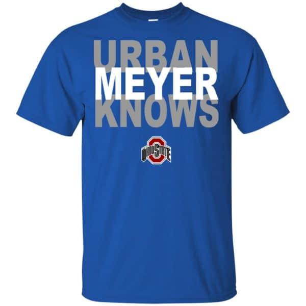 Ohio State Buckeyes: Urban Meyer Knows T-Shirts, Hoodie, Tank Apparel 5
