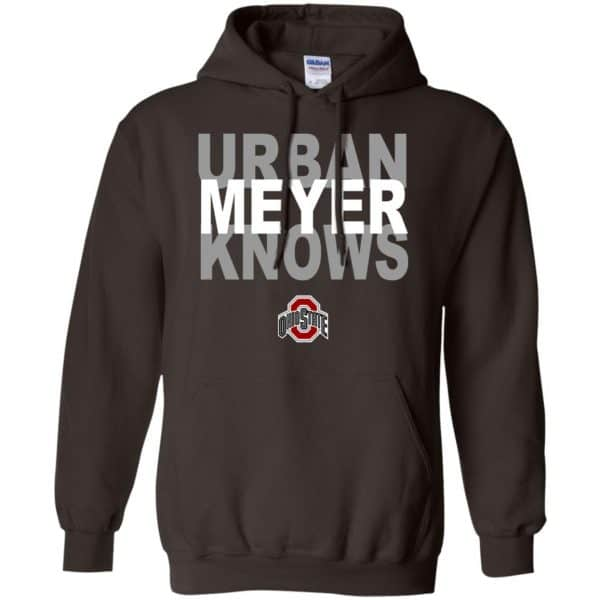 Ohio State Buckeyes: Urban Meyer Knows T-Shirts, Hoodie, Tank Apparel 9