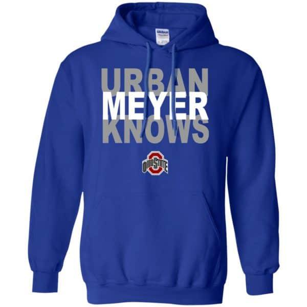 Ohio State Buckeyes: Urban Meyer Knows T-Shirts, Hoodie, Tank Apparel 10