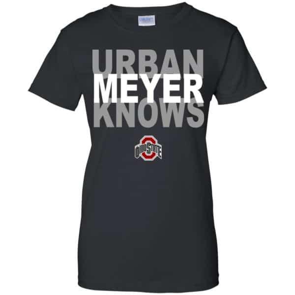 Ohio State Buckeyes: Urban Meyer Knows T-Shirts, Hoodie, Tank Apparel 11
