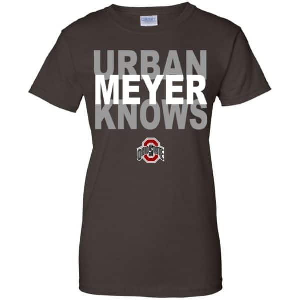 Ohio State Buckeyes: Urban Meyer Knows T-Shirts, Hoodie, Tank Apparel 12