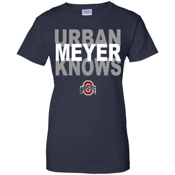 Ohio State Buckeyes: Urban Meyer Knows T-Shirts, Hoodie, Tank Apparel 13
