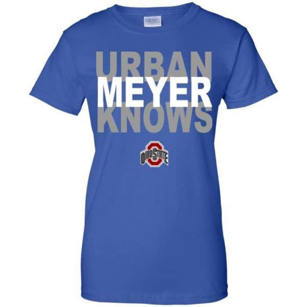 Ohio State Buckeyes: Urban Meyer Knows T-Shirts, Hoodie, Tank Apparel 14