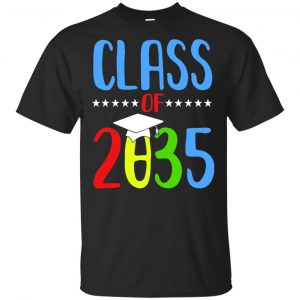 Grow With Me First Day Of School Class Of 2035 Youth T-Shirts, Hoodie Apparel