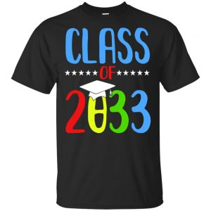 Grow With Me First Day Of School Class Of 2033 Youth T-Shirts, Hoodie Apparel