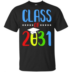 Grow With Me First Day Of School Class Of 2031 Youth T-Shirts, Hoodie