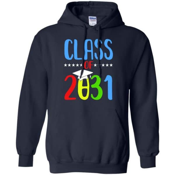 Grow With Me First Day Of School Class Of 2031 Youth T-Shirts, Hoodie Apparel
