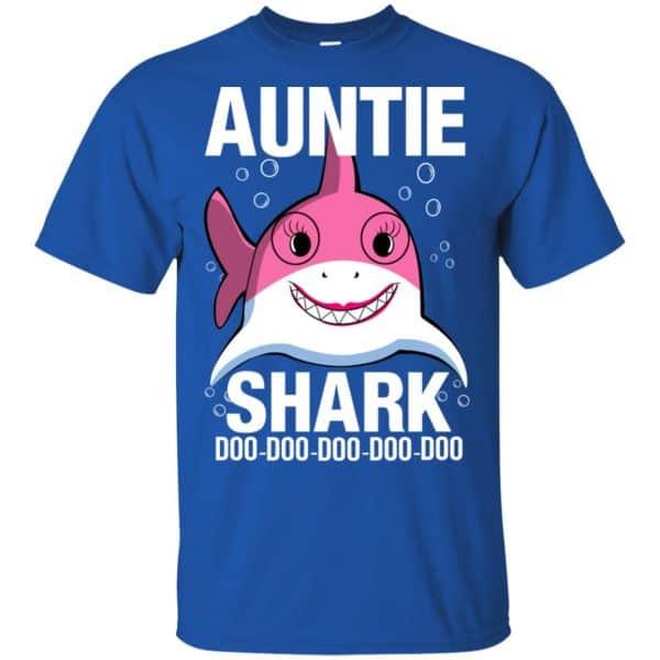 Auntie Shark Doo Doo Doo Doo Doo T-Shirts, Hoodie, Tank Apparel 5