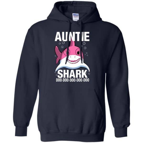 Auntie Shark Doo Doo Doo Doo Doo T-Shirts, Hoodie, Tank Apparel 8