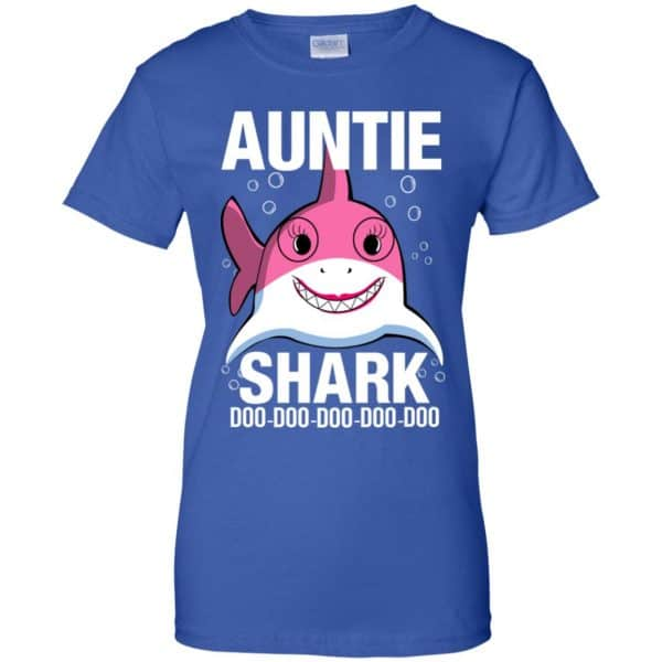 Auntie Shark Doo Doo Doo Doo Doo T-Shirts, Hoodie, Tank Apparel 14