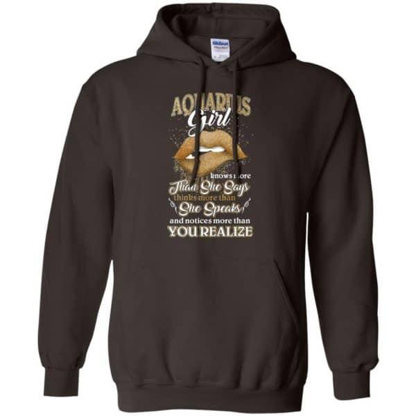 Aquarius Girl Knows More Than She Says Zodiac Birthday T-Shirts, Hoodie, Tank Apparel 9