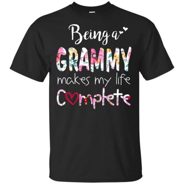 Being A Grammy Makes My Life Complete Mother's Day T-Shirts, Hoodie, Tank Apparel 3
