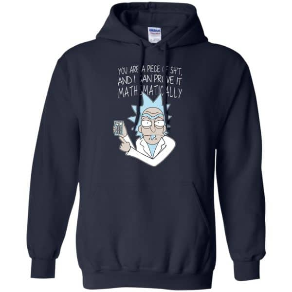You Are A Piece Of Shit And I Can Prove It Mathematically Shirt, Hoodie, Tank Apparel 8