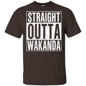 Straight Outta Wakanda T-Shirts, Hoodie, Tank Apparel 2